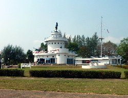 the Yutthanawi Naval Memorial in Laem Ngop Thailand
